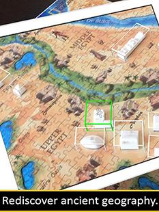 4D Cityscape National Geographic Ancient Civilizations