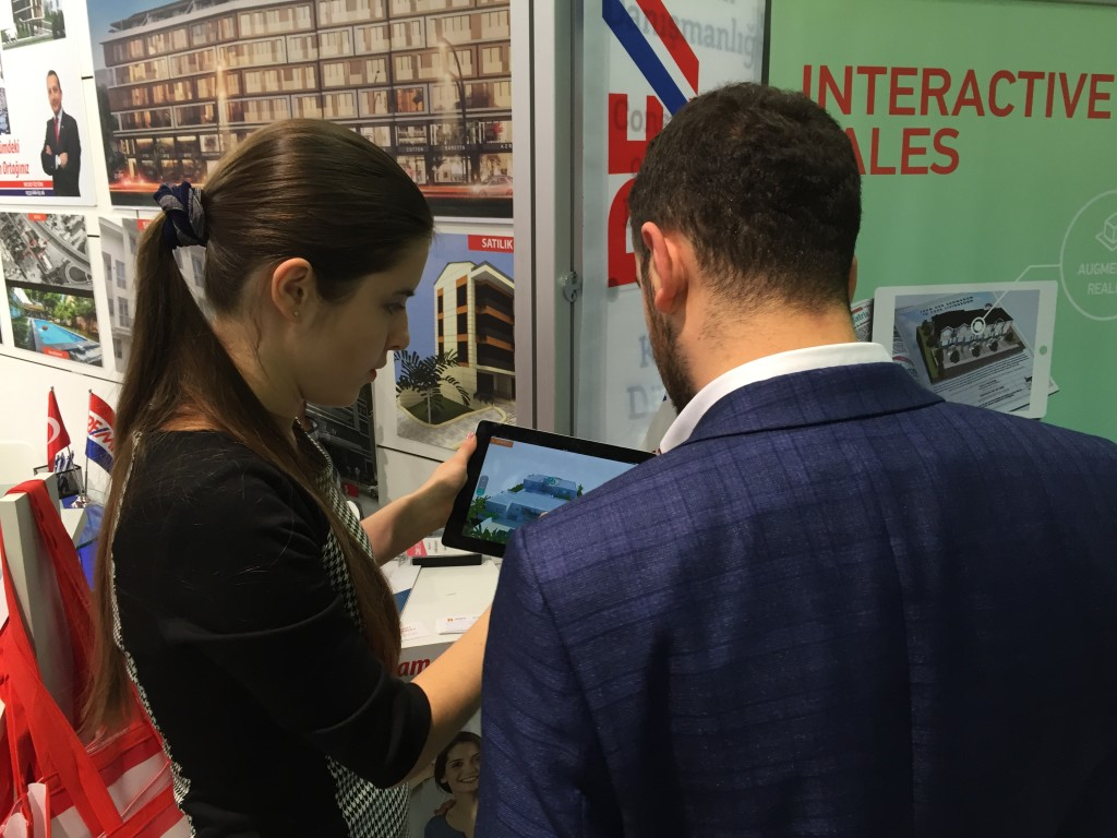 interactive solutions at emlak istanbul